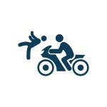 אופנוע תאונה